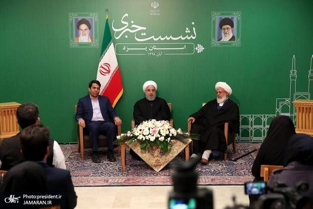روحانی: رابطه سیاسی ما با دنیا میتواند عامل مهمی برای توسعه گردشگری در کشور باشد