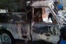 2 فقره آتش سوزی خودرو در گناوه