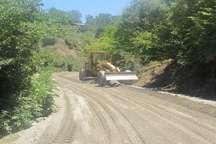 اجرای 9 پروژه راه سازی در علی آبادکتول