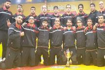 نایب قهرمانی تیم کشتی ناشنوایان کرمانشاه در مسابقات قهرمانی کشور