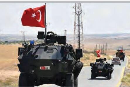 ارتش ترکیه پایگاههای نظامیِ خود را در سوریه تقویت میکند