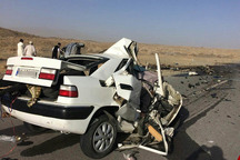 94 نفر در تصادفات جادهای امسال کرمانشاه جان باختند  1400 نفر زخمی شدند