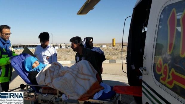 در حوادث رانندگی شرق سمنان 30 تن مصدوم شدند