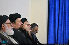 دیدار اعضای هیئت های مذهبی مراغه با  سید حسن خمینی