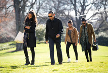 عکس/ دختر اوباما در دانشگاه هاروارد