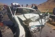 تصادف منجر به فوت دونفر دراستان چهارمحال وبختیاری