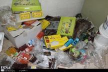 29 نوع قلم مواد غذایی غیر مجاز در قرچک امحا شد