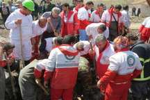 تداوم عملیات جستجوی مفقودان سیل در آذربایجان شرقی