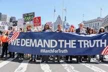 پنج خواسته معترضان آمریکایی از ترامپ