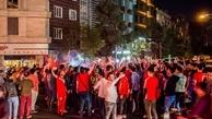 شادی هواداران پرسپولیس در خیابانهای پایتخت