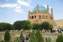شمار بازدید کنندگان ازمراکز تاریخی سلطانیه 50 درصد کاهش یافت