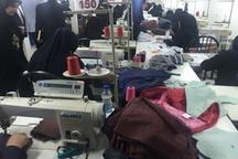 طرح تولید پوشاک با هدف اشتغالزایی در روستاهای اردبیل اجرا می شود