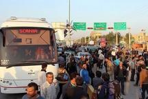 زائران زنجانی اربعین حسینی با 160 دستگاه اتوبوس بازمی گردند