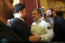 حاشیه دیدار فرماندهان نیروی انتظامی با سید حسن خمینی