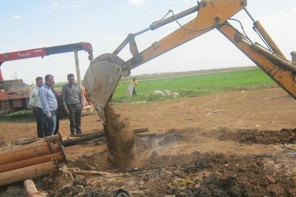 انسداد  117 حلقه چاه فاقد مجوز در گناباد و بجستان