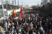 تشییع پیکر پاک شهیدان در کازرون و مرودشت