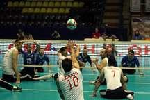 ایران سومین پیروزی در والیبال نشسته را کسب کرد