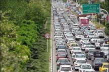 ترافیک به سمت تفرجگاههای خراسان رضوی پرحجم است