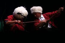 ساز کوک ترکمن ها در جشنواره موسیقی فجر گلستان