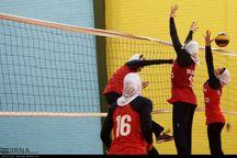 دختران جوان آذربایجانغربی مغلوب تیم والیبال مرکزی شدند