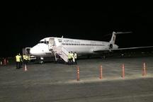 مشکل روشنایی باند فرودگاه اهواز بامداد امروز رفع شد